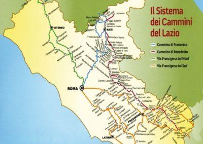 Sistema dei Cammini del Lazio